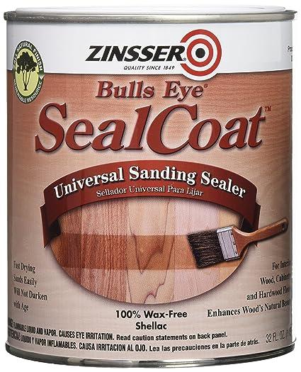 Rust Oleum Zinsser 854 1 Quart Bulls Eye Sealcoat Universal Sanding