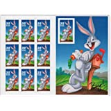Bugs Bunny Sheet of Ten 32 Cent Stamps Scott 3137 by USPS
