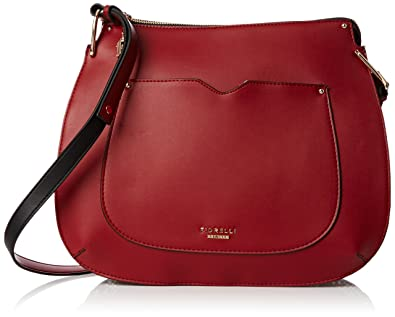 24ebcc7919f9a3 Fiorelli Womens Boston Hobo Shoulder Bag Red: Amazon.co.uk: Shoes & Bags
