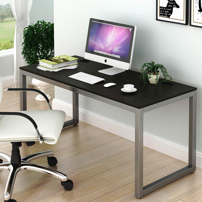 wholesale dealer ea66d e6b39 SHW Home Office 55-Inch Large Computer Desk, Espresso