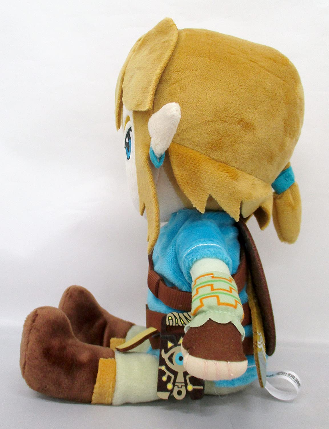 Amazon.com: The Legend of Zelda Breath Of The Wild ZP01 BOTW Link (S) Peluche Plush 20cm [Japan Import]: Toys & Games