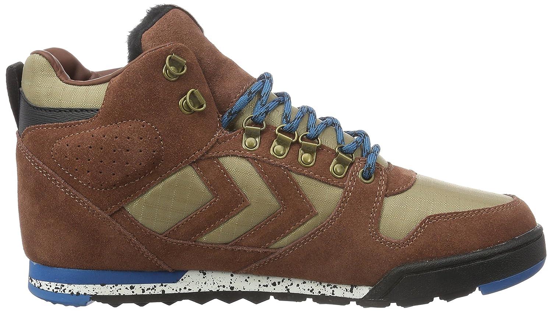 hummel Nordic Roots Forest Boot, Sneakers Hautes Homme, Vert (Rosin), 45 EU