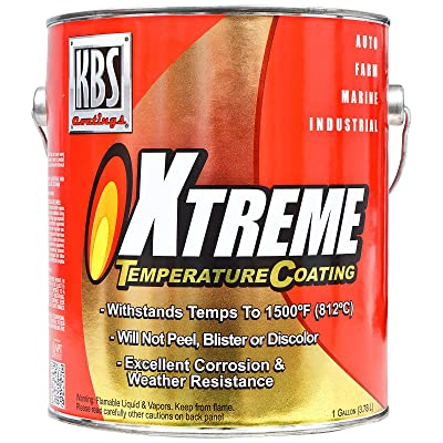 KBS Coatings 65503 Aluminum Xtreme Temperature Coating - 1 Gallon: Automotive