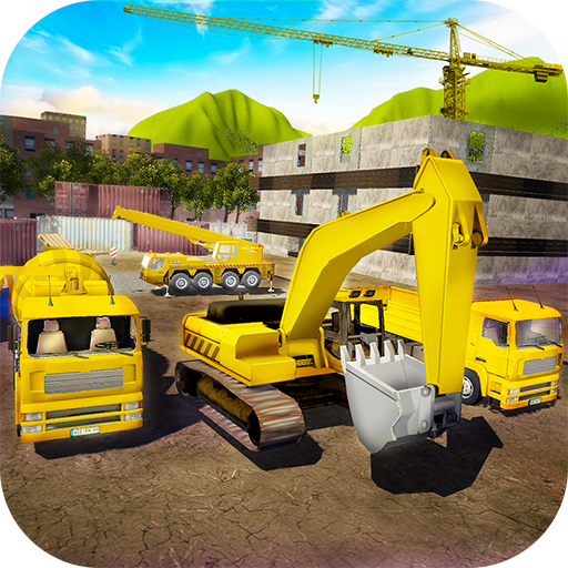 House Building: Construction Trucks Simulator