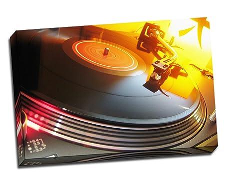 Technics DJ Tocadiscos lienzo Póster 30
