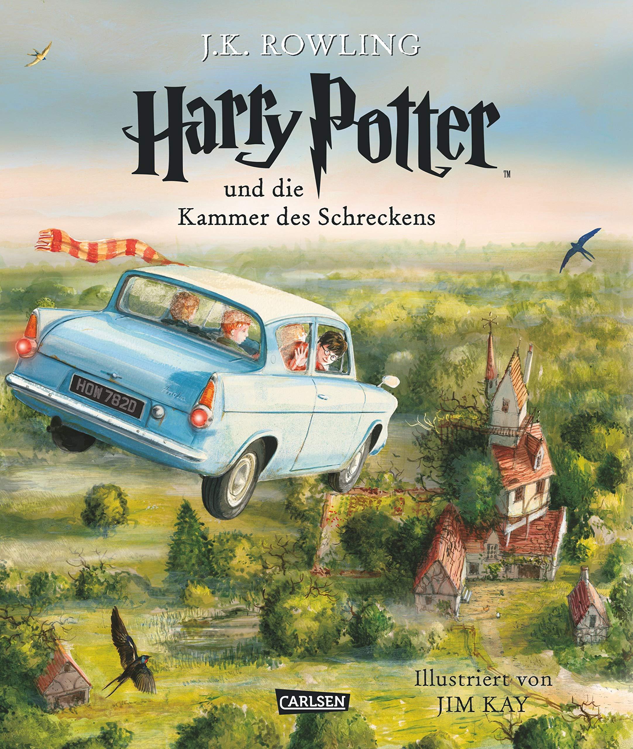 Harry Potter Und Die Kammer Des Schreckens  Farbig Illustrierte Schmuckausgabe   Harry Potter 2