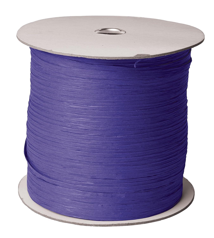 1//4 Wide x 1000 Yards Jillson /& Roberts Paper Raffia Ribbon Pastel Pink