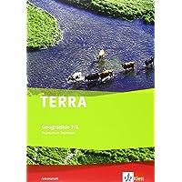 TERRA Geographie für Thüringen - Ausgabe für Regelschulen (Neubearbeitung) / Arbeitsheft Klasse 7/8