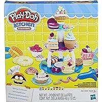 Play-Doh E2387 Bakery Creations Dough Art (Amazon Exclusive), Brown