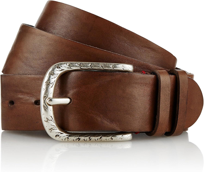 GUT INSTINKT - Cinturón de mezclilla para hombre de cuero italiano de lujo artesanal - DENE