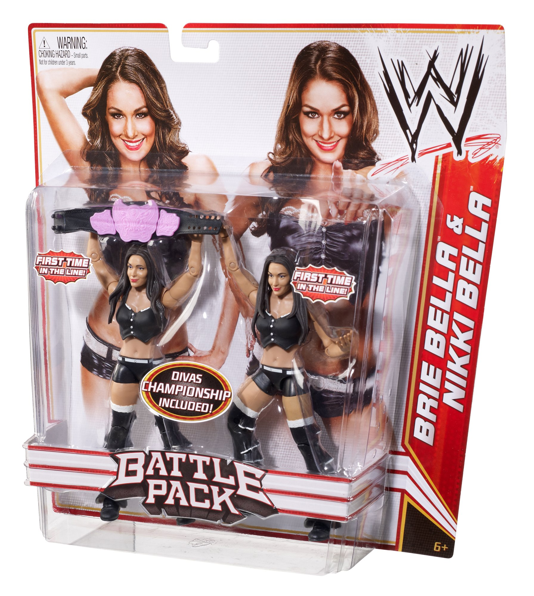 WWE Brie Bella and Nikki Bella Figure 2-Pack Series 15 by WWE