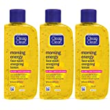 Clean & Clear Morning Energy Facewash, Lemon, 100ml (Pack of 3)