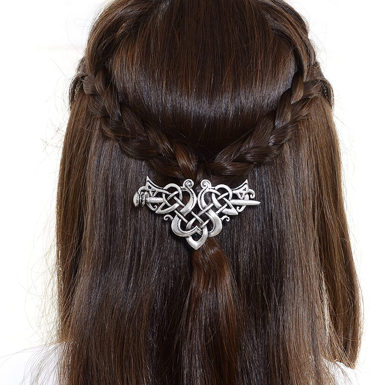 1 Pair Vintage Various Patterns Design Hairpins Hair Clip Hair Accessories Gift