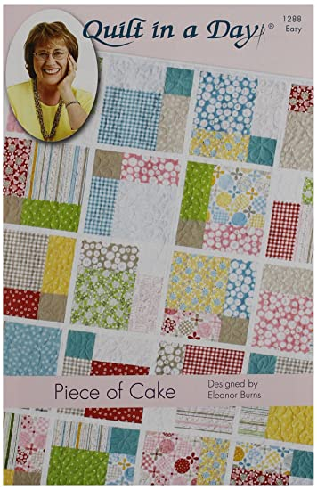 Amazon.com: Quilt in a Day Eleanor Burns Pattern,-Piece of Cake ... : quilt in day - Adamdwight.com