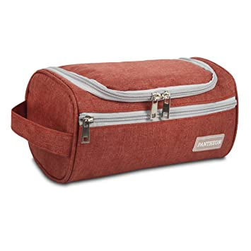 Amazon.com   Pantheon Toiletry Organizer Wash Bag Hanging Dopp Kit Travel  for Bathroom Shower   Beauty 79ce598ea86dc