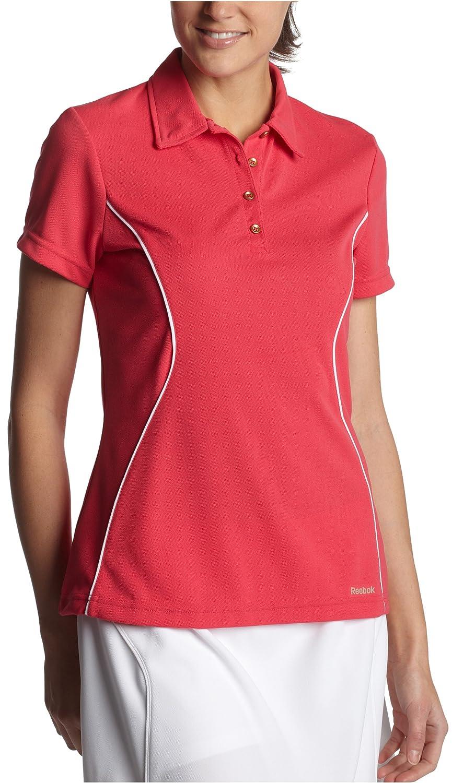 Reebok Play Dry Polo de la Mujer, Mujer, Heroine Pink: Amazon.es ...