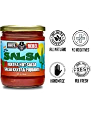 Classic Salsa - Mexican Fresh Peppers, Tomatoes and Onions in Red Hot Aubrey D. Salsa - with a Zesty zing 16 oz x 1