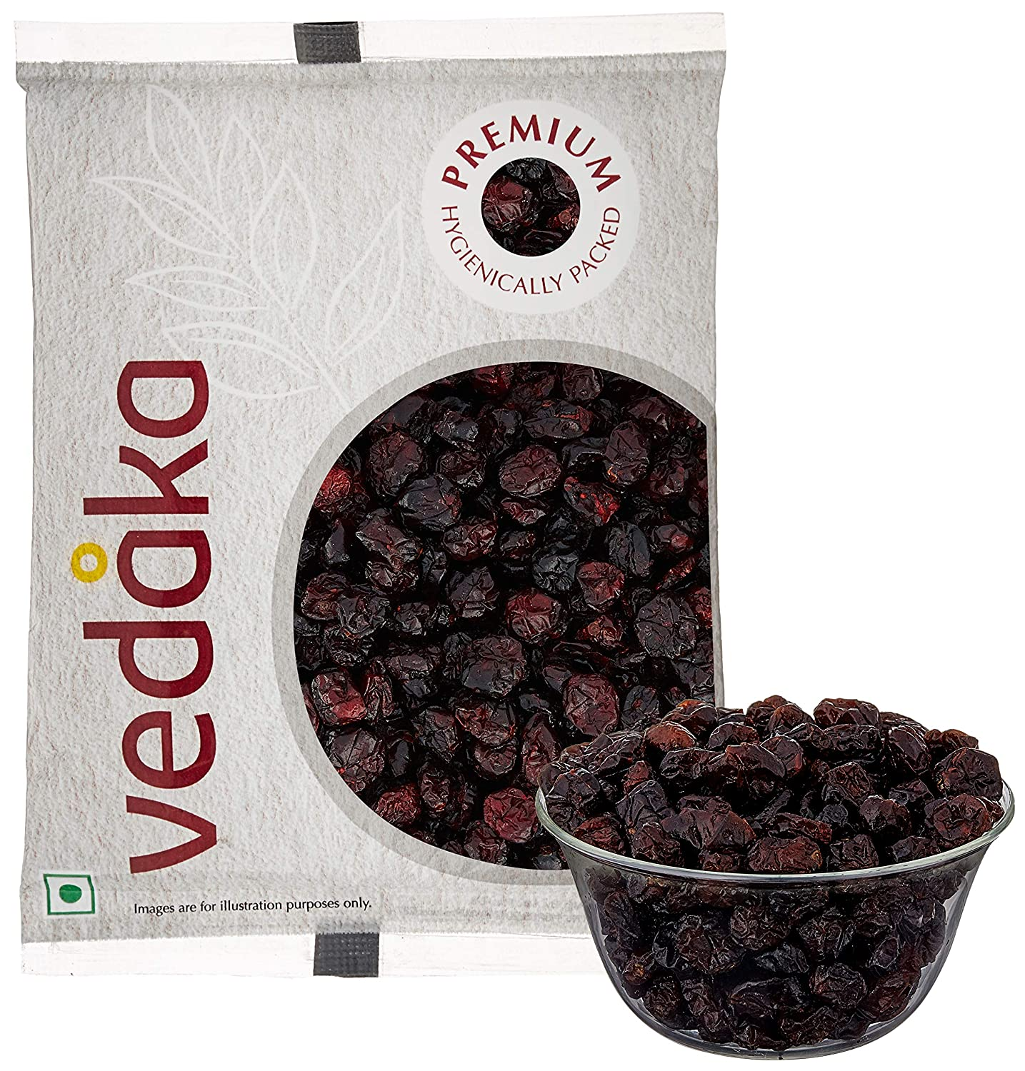 Vedaka Premium Whole Candied Cranberries, 200g