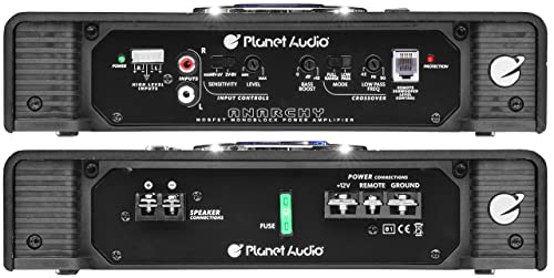 The Planet Audio 1500W car amplifier is a great option to make your own rules when it comes to music?