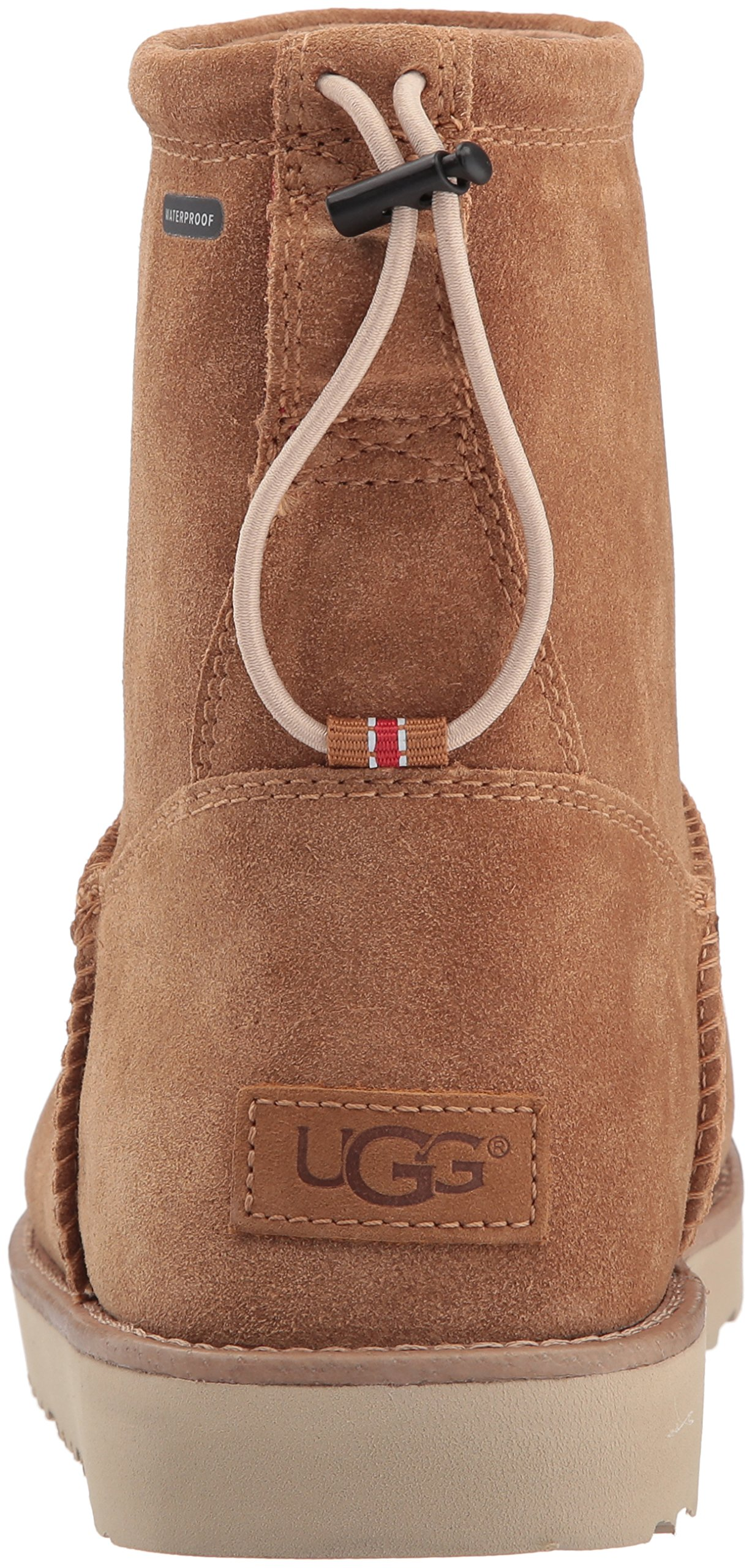 UGG Men's Classic Toggle Waterproof Winter Boot, Chestnut, 11 M US by UGG (Image #2)