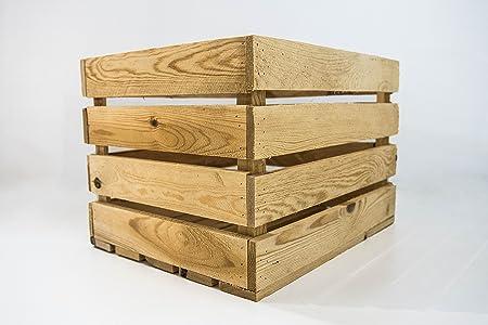 Caja de Madera de Almacenamiento Sam, Caja Vintage de Madera ...