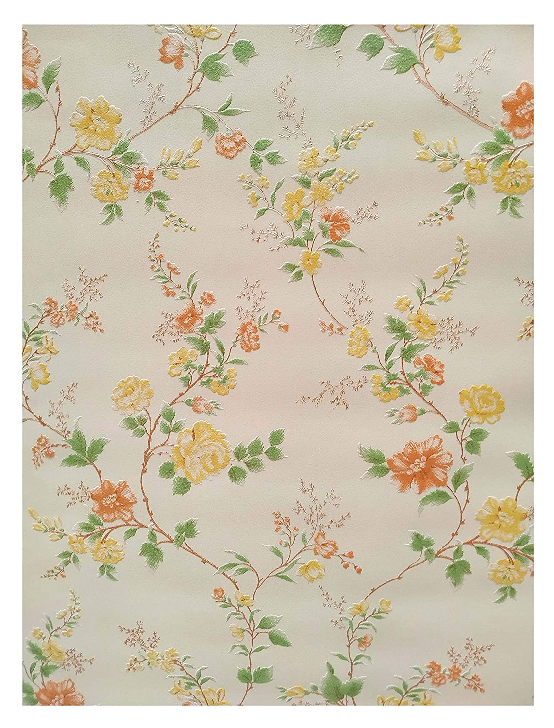 Texoplast Multicolor Heritage Floral Wallpaper Sunny Summer 57
