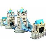 Simba 106137415 - Tower Bridge, Puzzle 3D [importato dalla Germania]