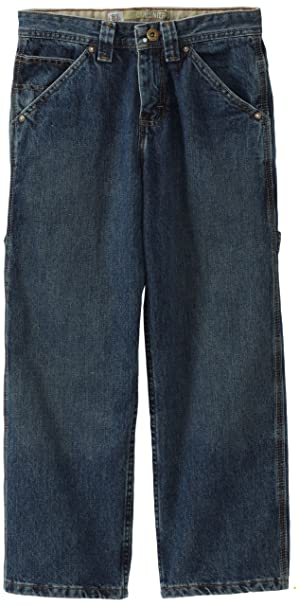Amazon.com: Lee BIG BOYS peto de carpintero utilidad Jeans ...