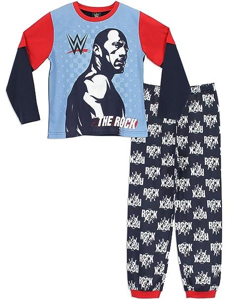 WWE - Pijama para Niños - WWE The Rock - 4-5 Años