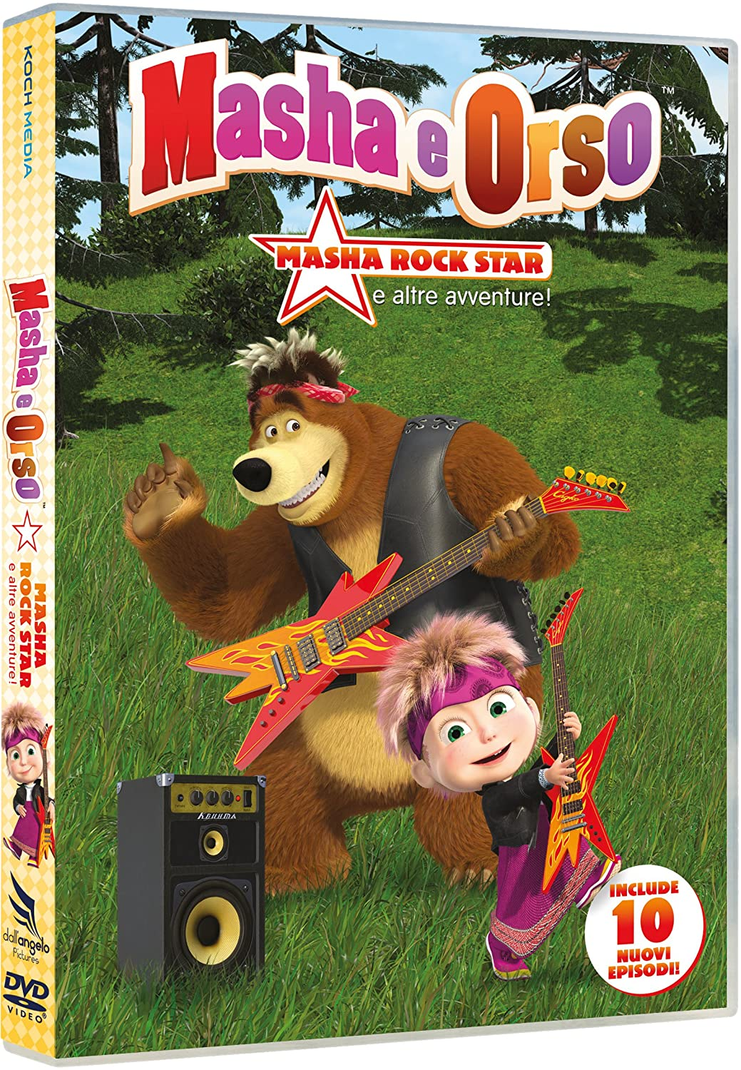 Amazon masha e orso stagione masha rock star