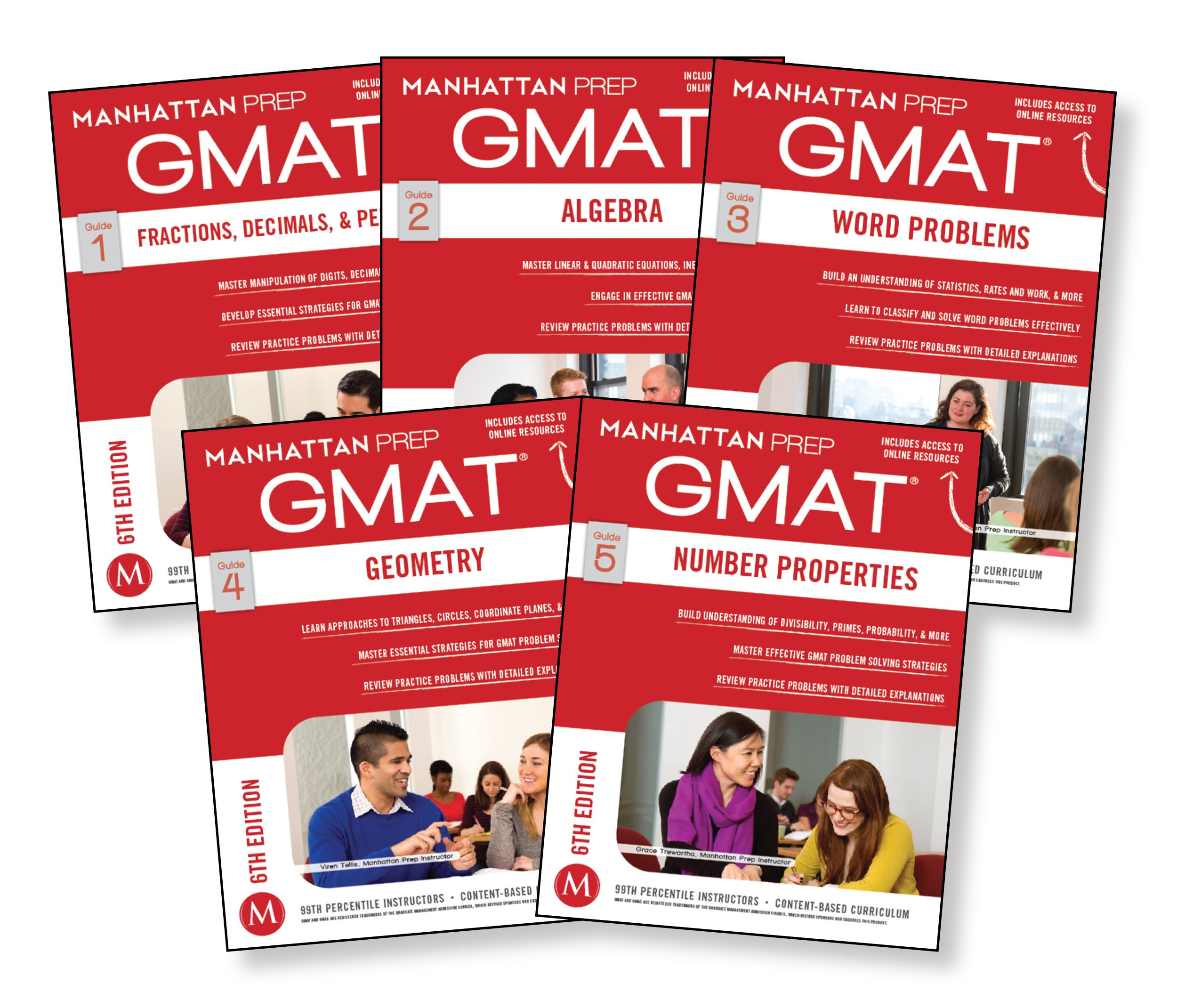 Buy GMAT Quantitative Strategy Guide Set (Manhattan Prep GMAT Strategy  Guides) Book Online at Low Prices in India | GMAT Quantitative Strategy  Guide Set ...