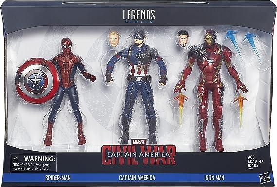 environ 15.24 cm ACTION FIGURE NEW Marvel Avengers Ironman 6 in