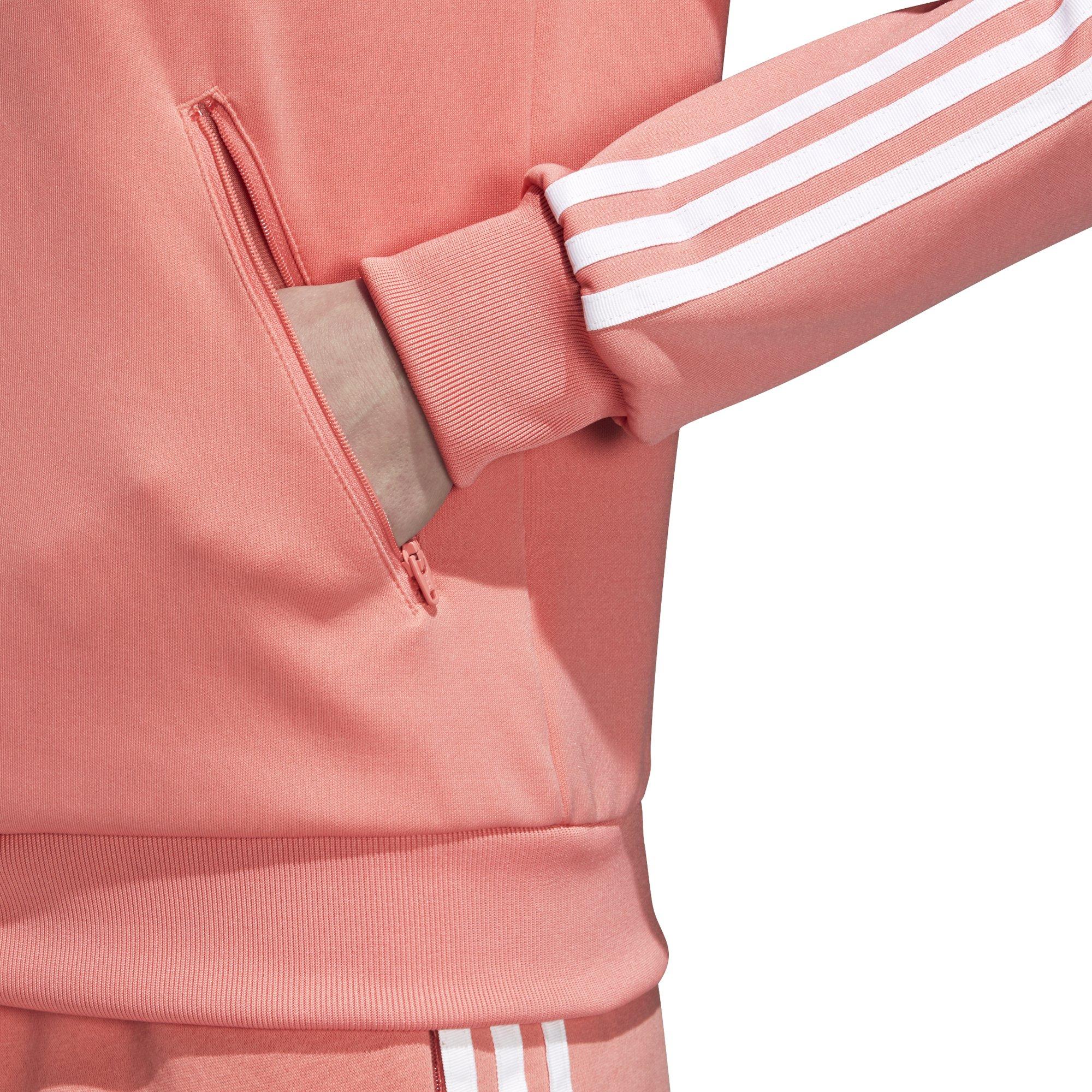 adidas Originals Women's Superstar Tracktop, Tactile Rose, L by adidas Originals (Image #6)