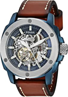 0472a128910 Amazon.com  Fossil Men s ME3081 Modern Machine Automatic Stainless ...