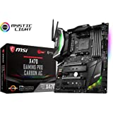 MSI X470 GAMING PRO CARBON AC Scheda Madre, Nero
