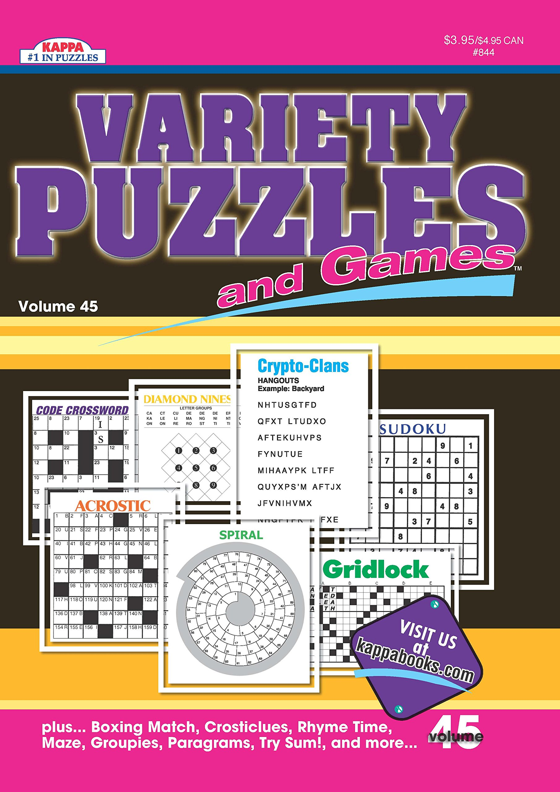 Variety Puzzles Games Puzzle Book product image
