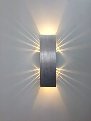 Gweat 2w modern led wall light with scattering light design 2 cubic gweat 2w modern led wall light with scattering light design 2 cubic shades aloadofball Gallery