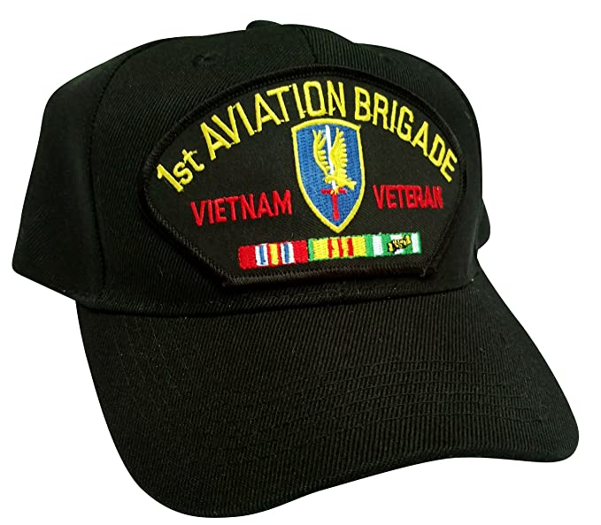 25fd886b21018 Image Unavailable. Image not available for. Color  HMC US Army 1st Aviation  Brigade Vietnam Veteran ...