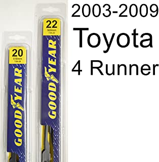 "product image for Toyota 4 Runner (2003-2009) Wiper Blade Kit - Set Includes 22"" (Driver Side), 20"" (Passenger Side) (2 Blades Total)"