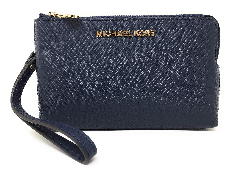 Michael Kors - Cartera para mujer de Cuero Hombre azul marino Medio: Amazon.es: Ropa y accesorios