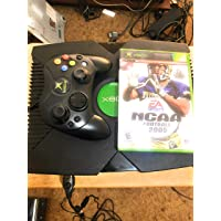 Microsoft Original Xbox Console with Controller, Power Supply, and AV Cable,Black