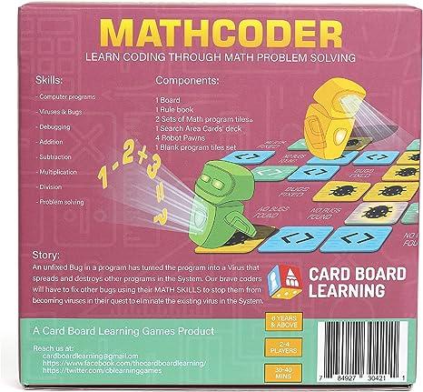 Mathcoder Juego de mesa – Derrota el virus de la computadora ...