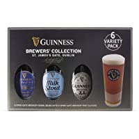 Guinness Tasting Selection and Glasses, 6 x 500 ml