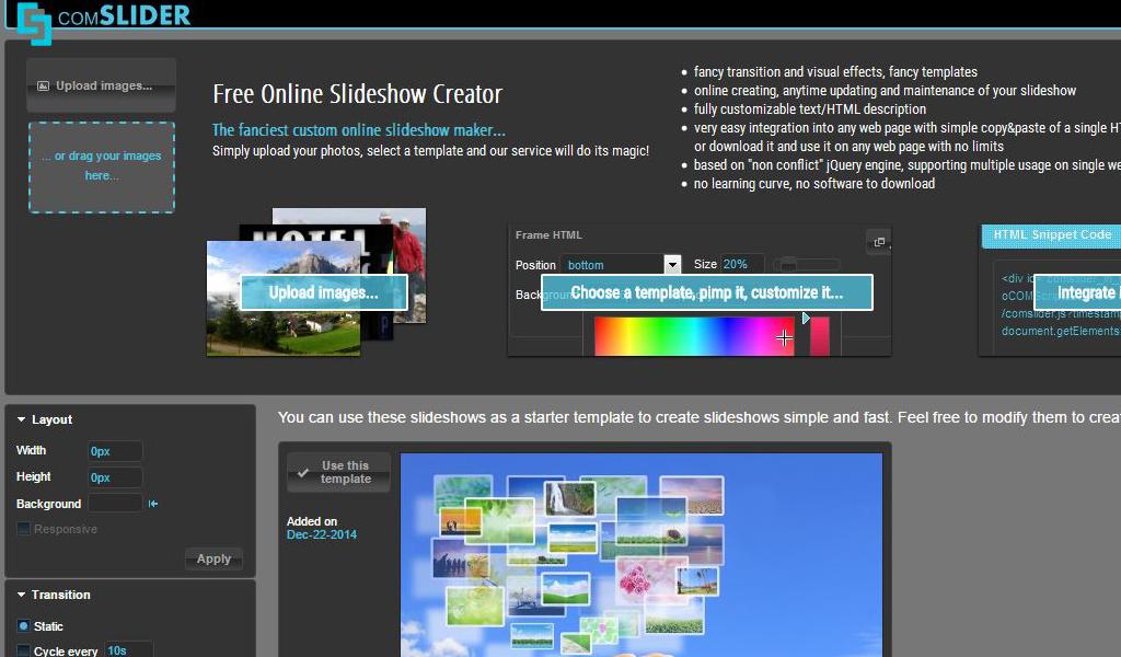 comSlider - Online Slideshow Creator: Amazon ca: Appstore