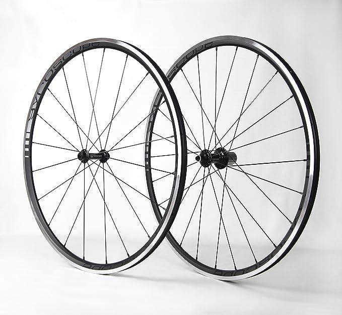 Vector Rueda ligera aluminio para bicicleta carretera: Amazon.es ...