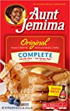 Aunt Jemima Pancake & Waffle Mix, Original Complete, 50 Servings Box