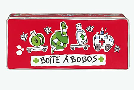 Derrière La Porte Metal Box Medicine Tin Boîte à Bobos Amazonco - Porte box