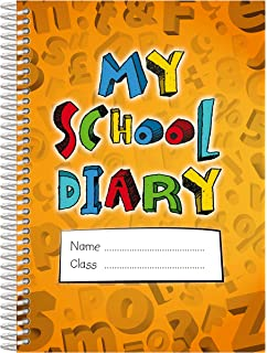 School Homework Diary: Undated Daily/Weekly Assignment