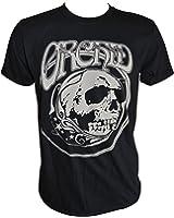 Orchid Big Grey Skull T-Shirt