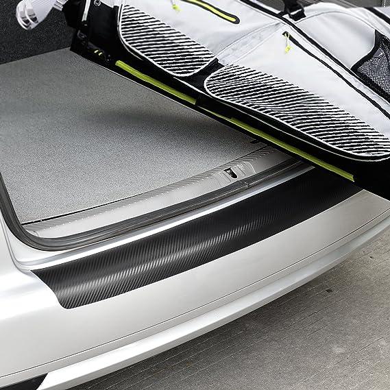 In Tec Passform Ladekantenschutz Folie Lackschutzfolie Carbon 121x11cm Selbstklebend Auto